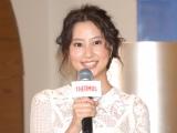 『THERMOS VILLAGE CAFE』のオープニングイベントに出席した河北麻友子 (C)ORICON NewS inc.