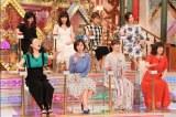 奥様タレント席の顔ぶれ(C)テレビ朝日