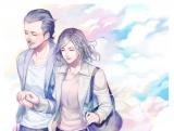 テレビ朝日系『おっさんずラブ』と「pixiv」がコラボレーションした「おっさんずラブイラスト募集企画」優秀賞に選ばれたsakuさんの作品「Last date」