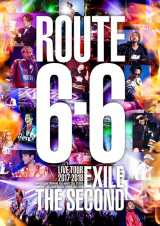 """EXILE THE SECONDの初ライブDVD『EXILE THE SECOND LIVE TOUR 2017-2018 """"ROUTE 6・6""""』が首位"""