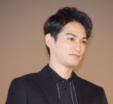 映画『OVER DRIVE』の公開初日舞台あいさつに登壇した町田啓太 (C)ORICON NewS inc.