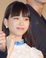 映画『OVER DRIVE』の公開初日舞台あいさつに登壇した森川葵 (C)ORICON NewS inc.
