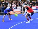 東京2020公式プログラム『三井のオフィス スポーツフェス for TOKYO 2020 3×3CUP エキシビジョン』の模様 (C)ORICON NewS inc.