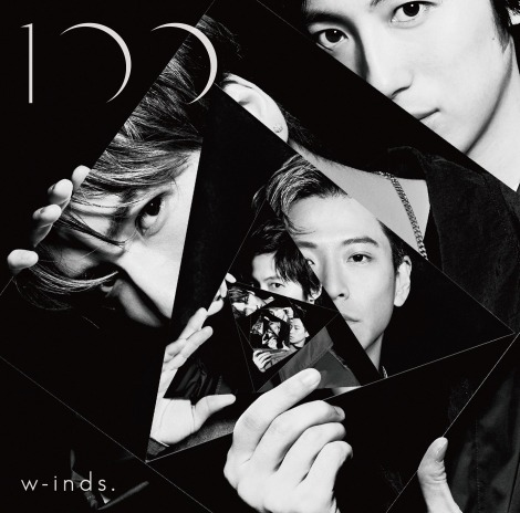 w-inds.の13thアルバム『100』通常盤