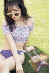 『bis』7月号に登場するNMB48・村瀬紗英