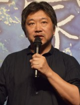 『万引き家族』試写会に出席した是枝裕和監督 (C)ORICON NewS inc.