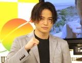 チャリティーランナーみやぞんをサポートするSexy Zone・菊池風磨 (C)ORICON NewS inc.
