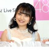 """総選挙で""""神7""""入りを宣言したAKB48・向井地美音=『AKB48グループ ファッションコンテンツ強化宣言』発表会 (C)ORICON NewS inc."""