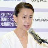 国際コンペティション審査委員長を担当する渡辺真起子 (C)ORICON NewS inc.