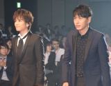 『SSFF&ASIA2018』のオープニングセレモニーに参加した(左から)岩田剛典、山下健二郎 (C)ORICON NewS inc.