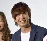 映画『キスできる餃子』の完成披露舞台あいさつに出席した田村侑久 (C)ORICON NewS inc.
