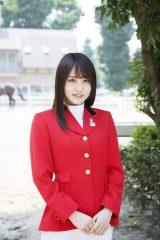 「馬術スペシャルアンバサダー」を2年連続で務める欅坂46・菅井友香