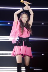 全30曲を熱唱=『namie amuro Final Tour 2018 〜Finally〜』より