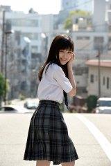 『週刊プレイボーイ』で人生初のグラビア撮影に挑戦した福本莉子 (C)細野晋司/週刊プレイボーイ