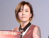 """""""父""""板尾創路に感謝した鈴木杏(C)ORICON NewS inc."""