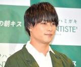 """理想の""""朝キス""""を語った鈴木伸之 (C)ORICON NewS inc."""