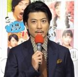 NHK土曜ドラマ『バカボンのパパよりバカなパパ』の試写会に出席した玉山鉄二 (C)ORICON NewS inc.