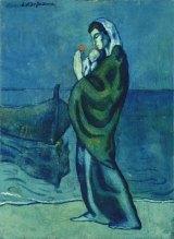 パブロ・ピカソ『海辺の母子像』1902年 ポーラ美術館蔵