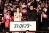 (左から)ももいろクローバーZ・百田夏菜子 、藤岡弘、 (C)ORICON NewS inc.