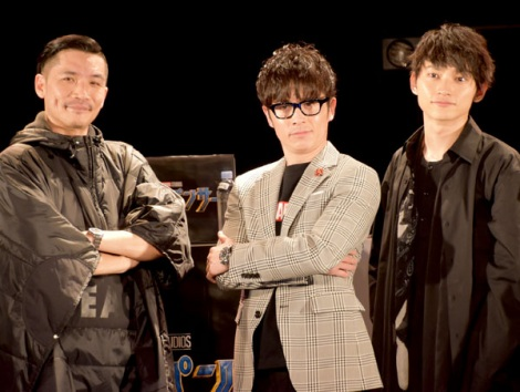 (左から)Zeebra、藤森慎吾、SKY-HI (C)ORICON NewS inc.