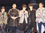 映画『ブラックパンサー』公開直前イベントに登場した(左から)MIRI、Zeebra、藤森慎吾、SKY-HI、KEN THE 390 (C)ORICON NewS inc.