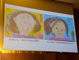 ダイヤモンド☆ユカイの子ども匠音くん、頼音くんが描いたお父さんの似顔絵=第37回『ベスト・ファーザー「イエローリボン賞」』発表・授賞式 (C)ORICON NewS inc.
