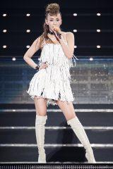 ラストツアーでも変わらぬスタイルを披露した安室奈美恵