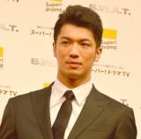 海外ドラマ『S.W.A.T.』ジャパンプレミアに登壇した村田諒太 (C)ORICON NewS inc.