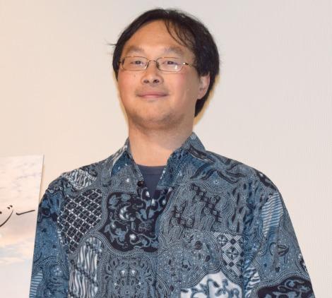 映画『海を駆ける』公開御礼舞台あいさつに出席した深田晃司監督 (C)ORICON NewS inc.