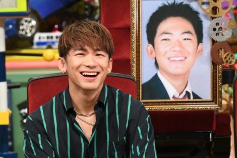 6月6日放送、テレビ朝日系『あいつ今なにしてる?』EXILE/三代目 J Soul BrothersのNAOTOが初登場。中学時代にずっと好きだった同級生の女子の今が明らかに(C)テレビ朝日