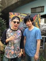 N.O.B.U!!!(左)と中村倫也