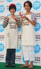 『六本木牧場』に登場した(左から)平野レミ、 和田明日香(C)ORICON NewS inc.