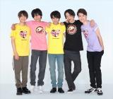 """8月25日、26日に放送される『24時間テレビ41』の""""チャリTシャツ""""は史上初の2デザイン展開 メインパーソナリティーのSexy Zoneが着用 (C)日本テレビ"""