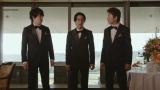 JRA『第59回 宝塚記念』新CMに出演する関ジャニ∞(左から)横山裕、錦戸亮、村上信五
