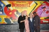 ディズニー・ピクサー最新作『インクレディブル・ファミリー』L.A.プレミア開催(左から)クレイグ・T・ネルソン、ホリー・ハンター、ブラッド・バード、サミュエル・L・ジャクソン(C)2018 Disney/Pixar. All Rights Reserved.