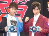 『ウルトラマンR/B(ルーブ)』の制作発表に出席した(左から)小池亮介、平田雄也 (C)ORICON NewS inc.