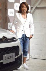 シトロエン限定車発表記念1日限定カフェ『LE CAFE CITROEN C3』発表レセプションパーティーに参加した北澤豪 (C)ORICON NewS inc.