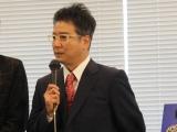 ミュージカル『GRIEF7』の製作発表会に出席した、少年隊の錦織一清 (C)oricon ME inc.