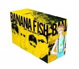 『BANANA FISH』復刻版BOX、vol.1〜4を並べると(C)吉田秋生・小学館