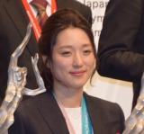 『平成29年度JOCスポーツ賞 表彰式』に出席した菊池彩花選手 (C)ORICON NewS inc.