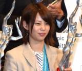 『平成29年度JOCスポーツ賞 表彰式』に出席した高木菜那選手(C)ORICON NewS inc.