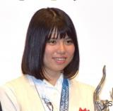 『平成29年度JOCスポーツ賞 表彰式』に出席した小嶋美紅選手(C)ORICON NewS inc.