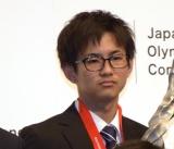 『平成29年度JOCスポーツ賞 表彰式』に出席した遠藤雅也選手 (C)ORICON NewS inc.