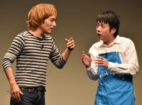 お笑いライブ『タイタンライブ』6月公演に出演したかもめんたる (C)ORICON NewS inc.