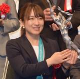『平成29年度JOCスポーツ賞 表彰式』に出席した鈴木夕湖 (C)ORICON NewS inc.