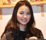 日豪合作映画『STAR SAND ─星砂物語─』のトークイベントに出席した織田梨沙 (C)ORICON NewS inc.