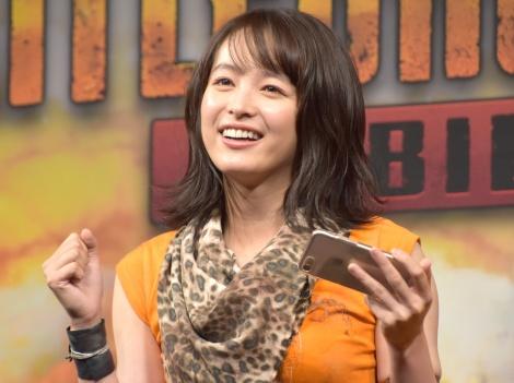 スマートフォン向けゲームアプリ『PLAYERUNKNOWN'S BATTLEGROUNDS MOBILE』の新テレビCM発表会に出席した清野菜名 (C)ORICON NewS inc.