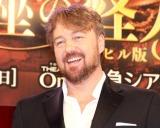 渋谷でマリオカートを熱望するジョン・オーウェン=ジョーンズ =ミュージカル『オペラ座の怪人〜ケン・ヒル版〜』制作発表記者会見 (C)ORICON NewS inc.