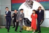 (左から)JOY、六平直政、ジョン・カビラ、小柳ルミ子、鈴木隆行氏 (C)ORICON NewS inc.