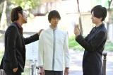 『花のち晴れ〜花男 Next Season〜』に出演する嘉島陸(中央)と桜田通(右)(C)TBS